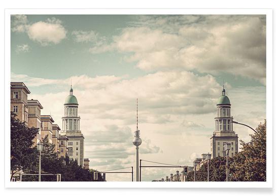 Frankfurter Tor Poster