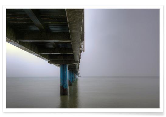 Seebrücke Poster