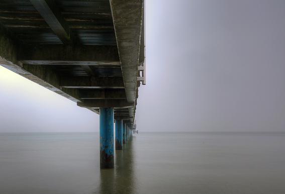 Seebrücke Aluminium Print