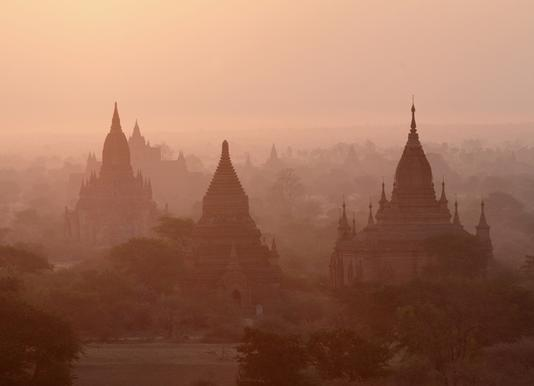 Bagan Canvas Print