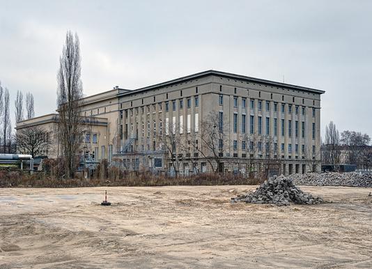 Berghain Leinwandbild