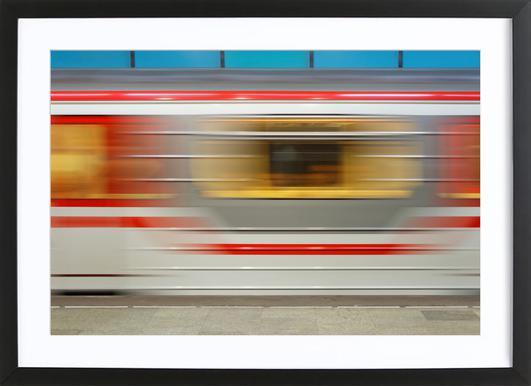 Tbilisi Metro Framed Print