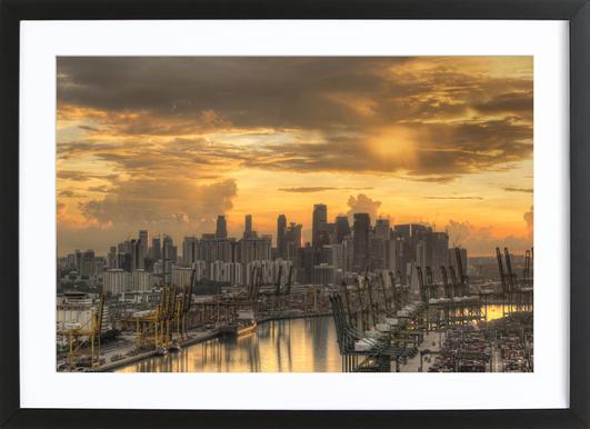 Singapore No. 2 Framed Print