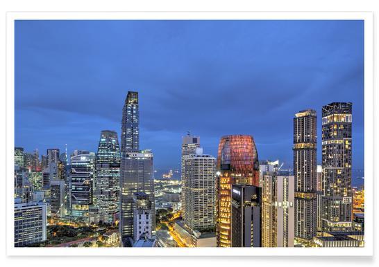 Singapore No. 4 affiche