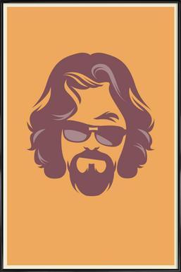 The Dude ingelijste poster