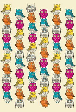 Owls -Alubild