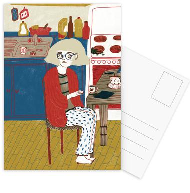 Breakfast -Postkartenset