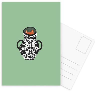 Mysterious Postcard Set