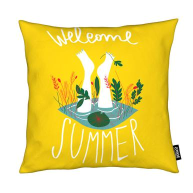 Welcome Summer Coussin