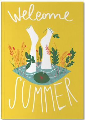 Welcome Summer Notizbuch