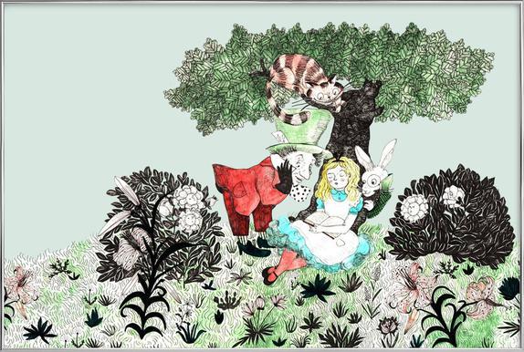 Alice Poster im Alurahmen