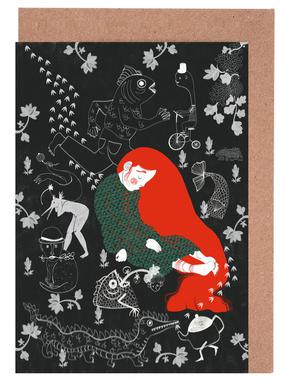 Asleep Greeting Card Set