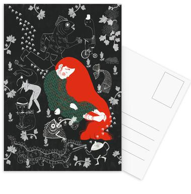 Asleep -Postkartenset