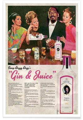 Gin & Juice Poster