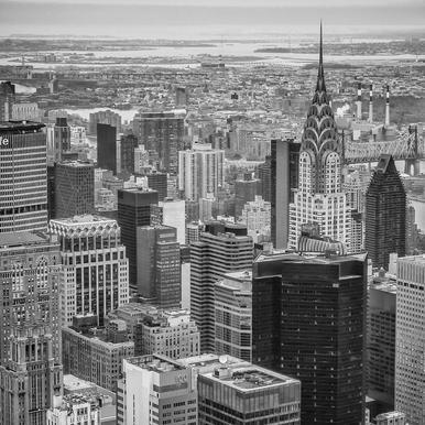 New York Skyline -Acrylglasbild