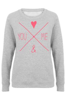 You And Me Frauen Sweatshirt