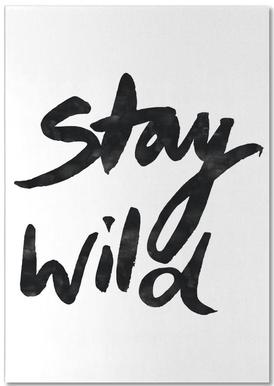 Stay Wild Notepad