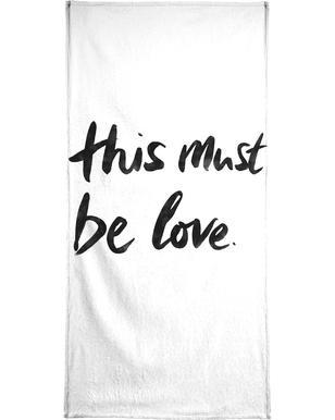 This Must Be Love 2  Serviette de plage