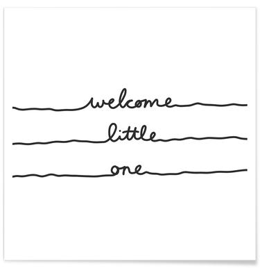 Welcome Little One Poster