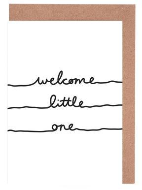 Welcome Little One Grußkartenset