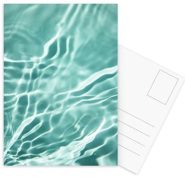 Water 4 ansichtkaartenset