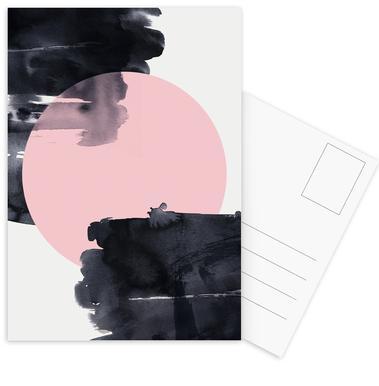 Minimalism 20 Postcard Set