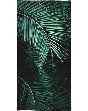 Palm Leaves 9 Serviette de bain