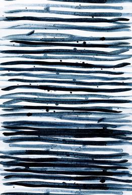 Watercolor 9 Impression sur alu-Dibond