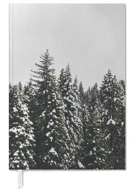 Snow Trees Personal Planner