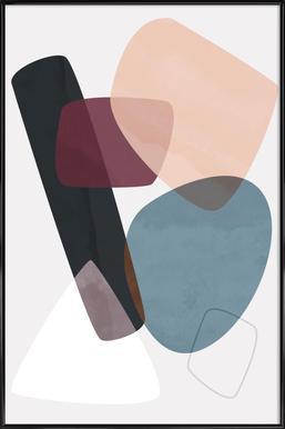Graphic 195 -Bild mit Kunststoffrahmen