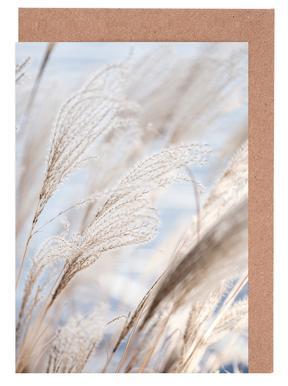Grass 5 Greeting Card Set