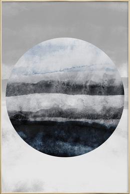 Minimalism 47 Poster in Aluminium Frame