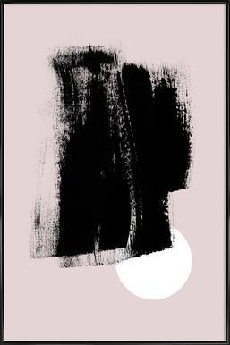 Minimalism 49 Poster im Kunststoffrahmen