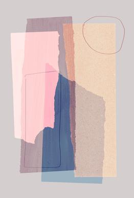 Pieces 5A Acrylglasbild