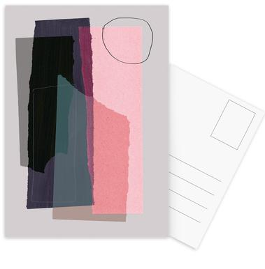 Pieces 5C Postcard Set