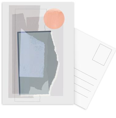 Pieces 10B Postkartenset
