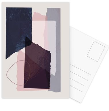 Pieces 12 -Postkartenset