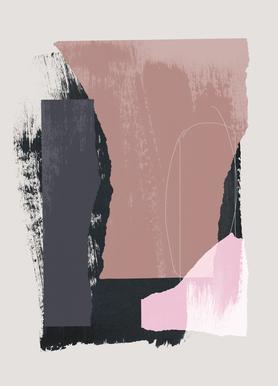 Pieces 14 -Leinwandbild