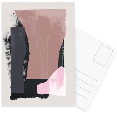 Pieces 14 Postkartenset