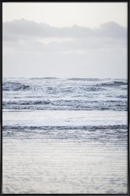 The Sea Poster im Kunststoffrahmen