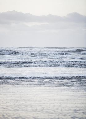 The Sea -Leinwandbild