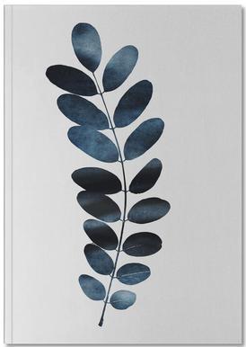Watercolor Leaves 11 Notizbuch