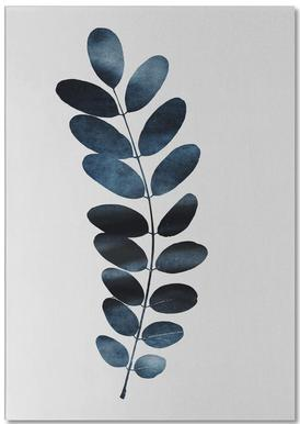 Watercolor Leaves 11 Notepad