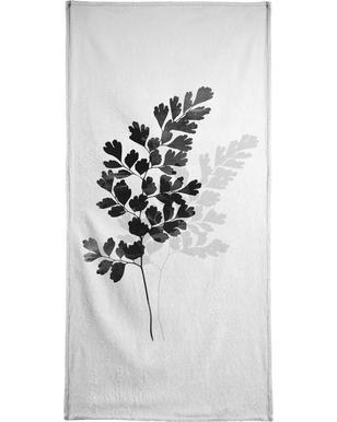Watercolor Leaves 14 Hand & Bath Towel