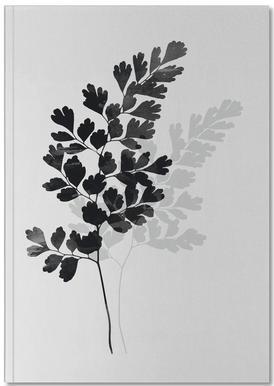 Watercolor Leaves 14 Notebook