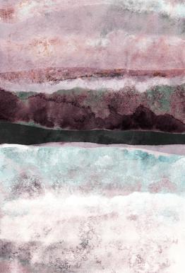 Watercolors 24 Aluminium Print