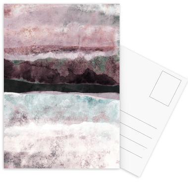 Watercolors 24 Postcards