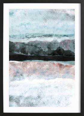 Watercolors 24X Framed Print