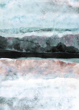 Watercolors 24X -Leinwandbild