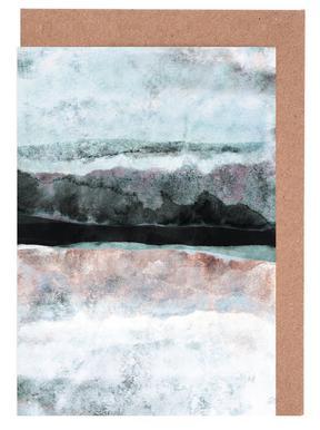 Watercolors 24X -Grußkarten-Set